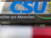 CSU Sprecher Jürgen Fischer