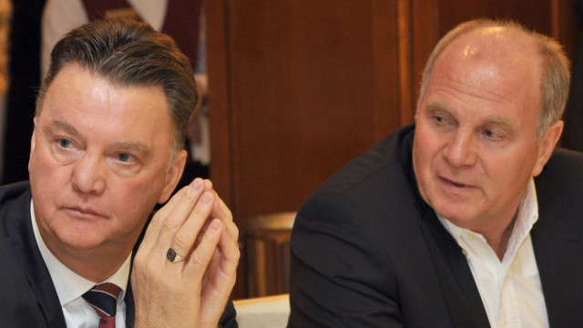 Louis van Gaal und Uli Hoeneß