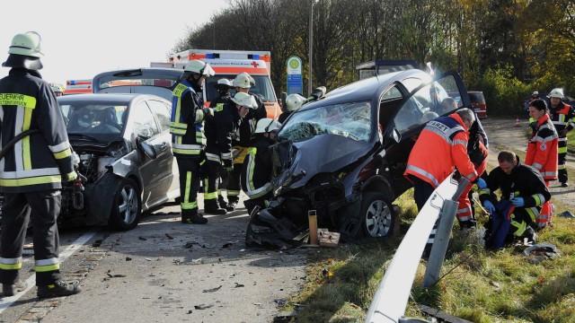 Unfall bei Lindach