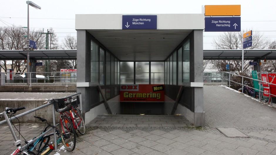 Germering: Missstaende und Anstoessigkeiten rund um den Bahnhof