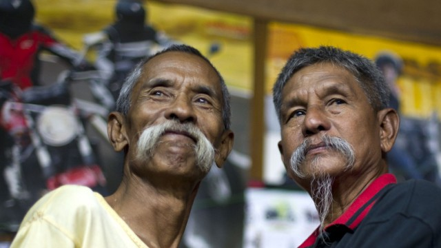 "Rebellion ""Moustache Brothers"" in Myanmar"