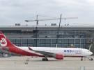 Air Berlin auf dem Flughafen Berlin Brandenburg