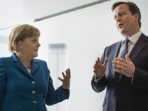 Merkel und Cameron