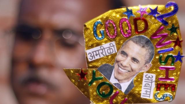 US-Wahl Obama Indien