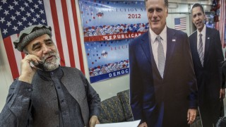 Presidential Election Event At US Embassy In Kabul