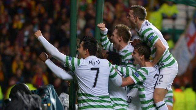Celtic v Barcelona - UEFA Champions League