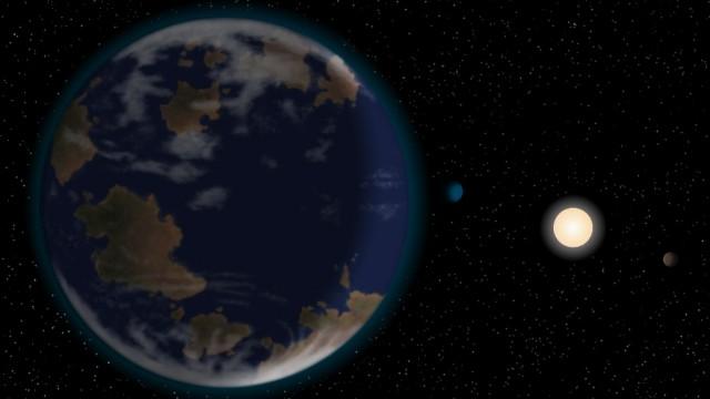 Der Planet HD 40307g