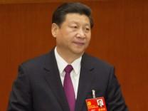 Xi Jinping auf dem 18. Parteitag in China