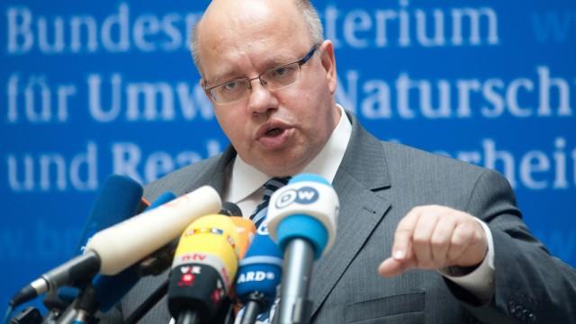 Umweltminister Altmaier will nicht zu Raab