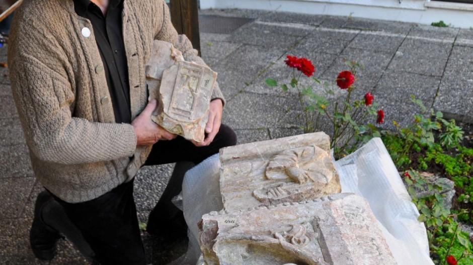 Ausgrabungen Ebersberg Relikt der Mönche