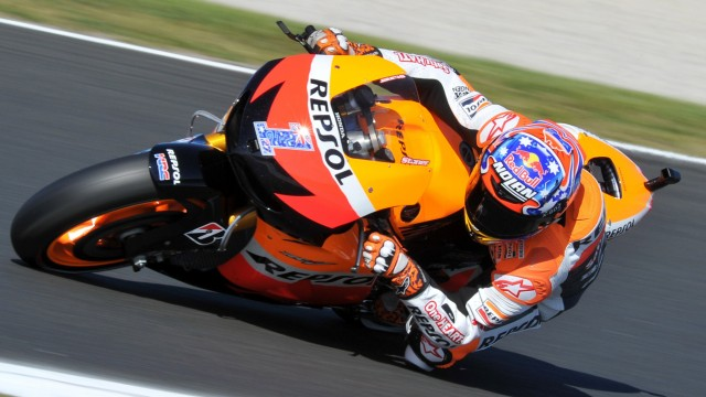 Motorsport Motorrad-Weltmeister Casey Stoner