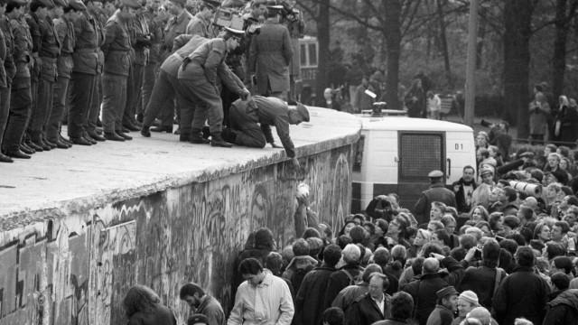 Deutsch-deutsche Grenzöffnung, 11. November 1989 in Berlin