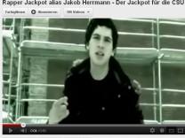 Jackpot alias Jakob Herrmann rappte im Internet über Sex und Drogen.