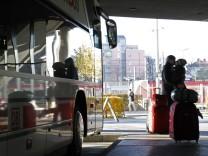 Fernbus Busreise Deutsche Bahn Post ADAC