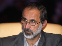Syrien Opposition Ahmed al-Chatib.