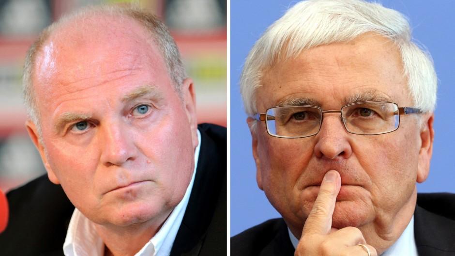 Uli Hoeneß und Theo Zwanziger