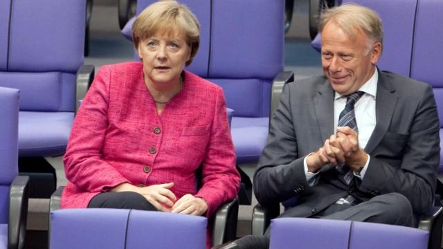Bundestag Angela Merkel, Schwarz, Grün, Union