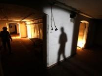 Unterirdischer Bunker in München, 2012