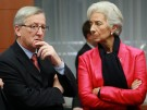 Juncker, Lagarde