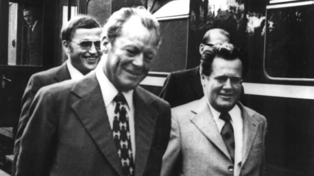 60 Jahre Bundesrepublik - Brandt und Guillaume