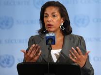 Die amerikanische UN-Botschafterin Susan Rice ist als neue Außenministerin im Gespräch