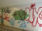 Graffiti-Schmieriereien