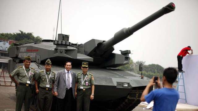 Deutscher Panzer Leopard 2