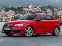 Audi A3 Sportback, Audi A3, Audi, A3, Sportback, Kompaktklasse, VW Golf