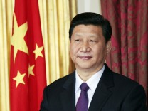 File photo of China Vice-President Xi in Dublin
