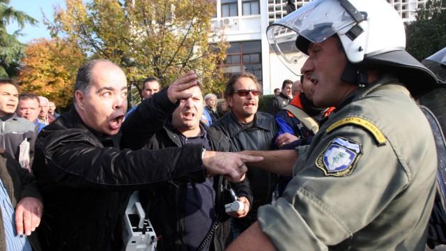 Griechenland am Abgrund Konferenz in Thessaloniki