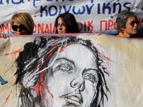 Generalstreik in Griechenland, Krise