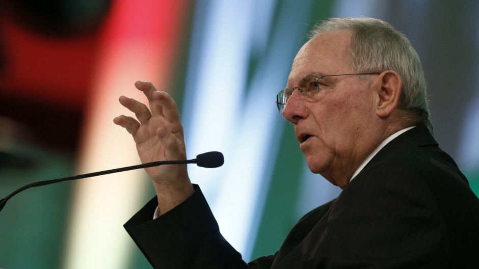 Griechenland Schäuble