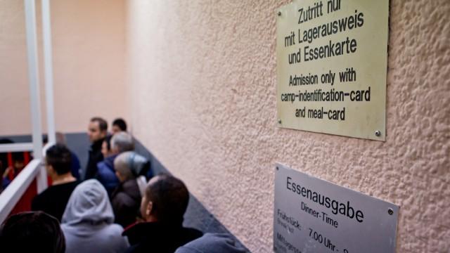 Flüchtlingslager in Zirndorf