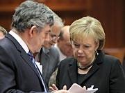 EU Gipfel Klima Kopenhagen Milliarden Entwicklungsländer Angela Merkel Gordon Brown, dpa