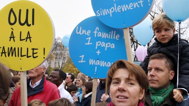 Homo-Ehe Nach Gesetzesinitiative der Regierung Hollande