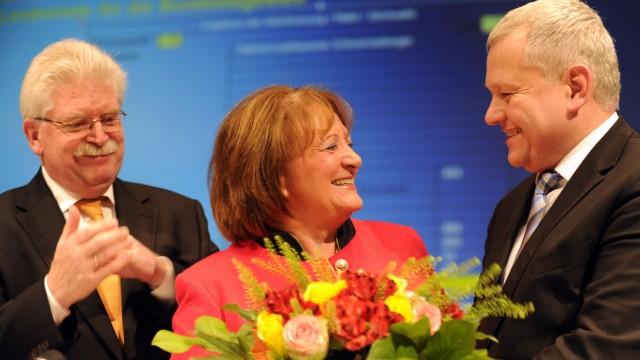Landesparteitag der FDP Bayern mit Sabine Leutheusser-Schnarrenberger, Thomas Hacker und Martin Zeil