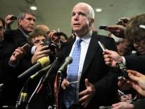 Former CIA Director Petraeus Testifies At Congressional Hearings On Benghazi Attack