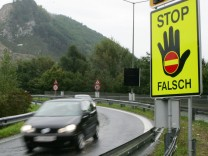 Geisterfahrer, Falschfahrer, Verkehrsunfall, Warnsystem, Ramsauer