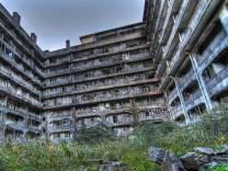 James Bond Skyfall Silva Insel Hashima Japan Gunkanjima Drehort