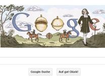 Otto von Guericke als Google Doodle