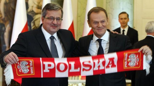 Donald Tusk, Bronislaw Komorowski