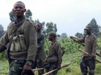 Kongo M23 Rebellen Goma