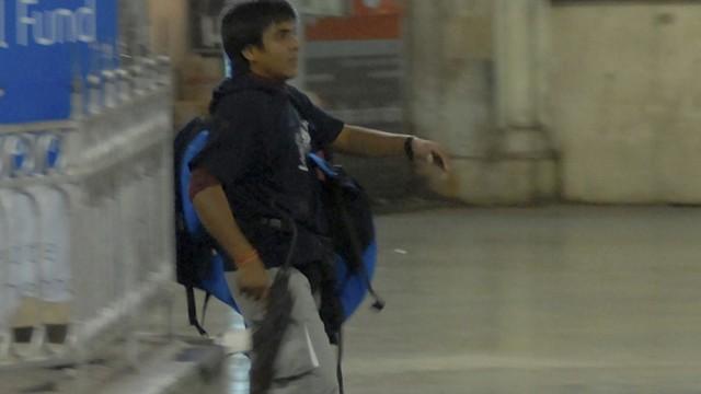 File photo of Mohammad Ajmal Kasab, a then suspected gunman, walking in the premises of the Chhatrapati Shivaji Terminus or Victoria Terminus railway station in Mumbai