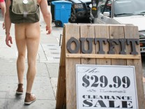 San Francisco Verbot Nackte Nacktheit in Öffentlichkeit Nudimus