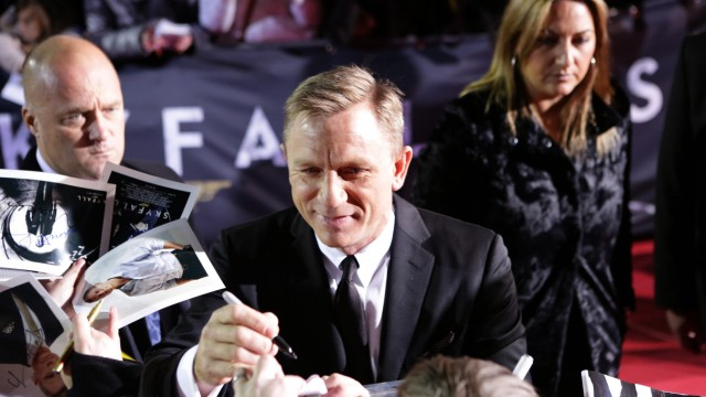 'Skyfall'-Premiere in Berlin