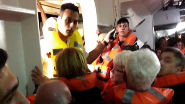 Kreuzfahrt Kreuzfahrtschiff Havarie Costa Concordia Notfall