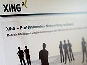 Social Networks Xing Bewerbung