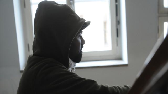 Ibrahim aus Eritrea: Vor wenigen Wochen ist er als Flüchtling nach München gekommen.