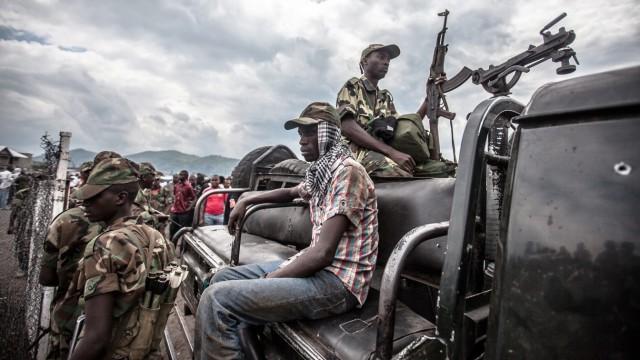 Kongo M23 Rebellen Afrika