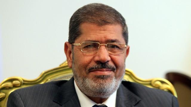 Ägyptischer Präsident Mursi